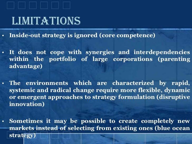 criticism of porters 5 forces model