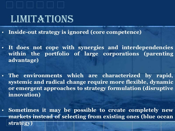 Business Strategy/Approaches to Strategic Management