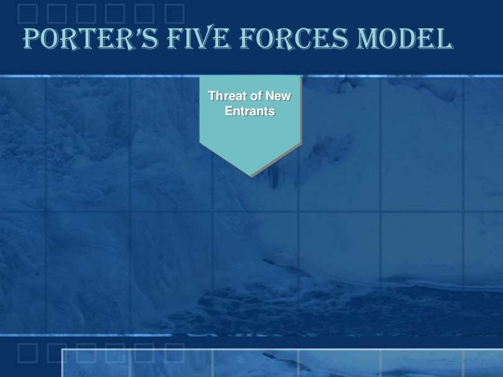 five force model discussion A discussion of porter's 5 forces, including rivalry, the threat of substitutes, buyer power, supplier power, and barriers to entry  porter's five forces a model .
