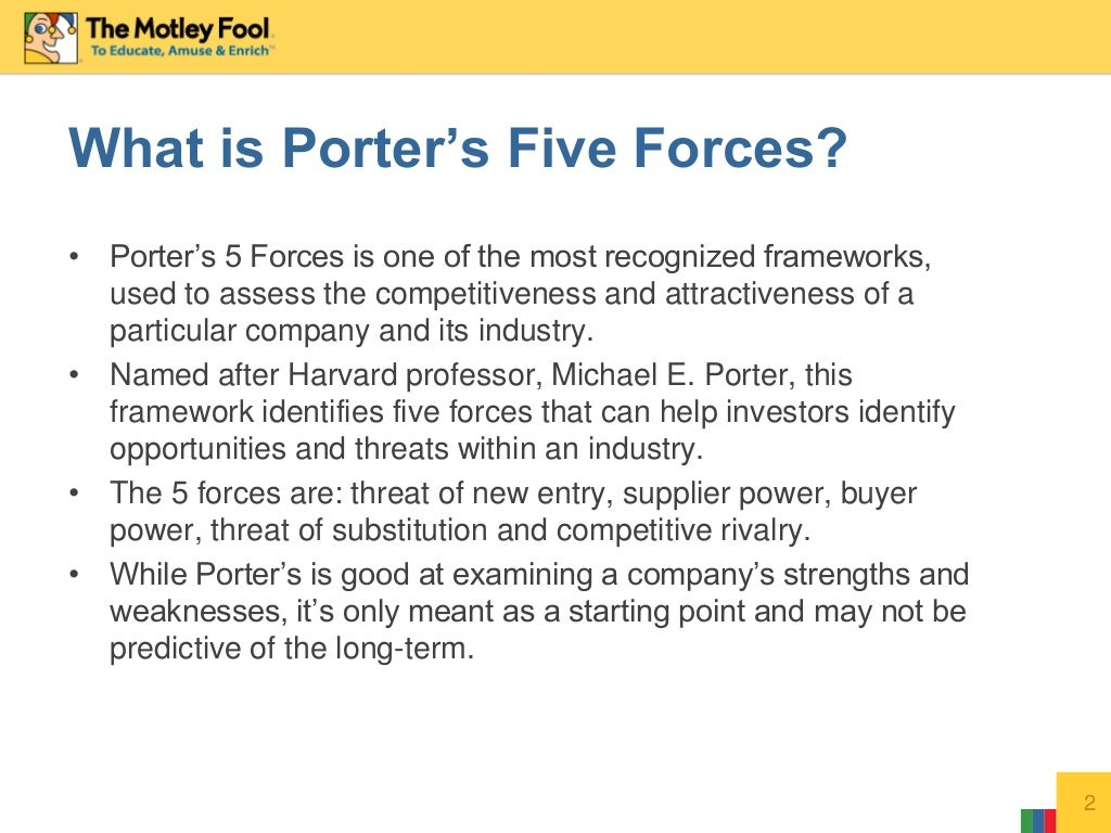 yahoo inc porter 5 forces Wikiwealth's comprehensive five (5) forces analysis of yahoo includes  bargaining power of supplies and customers threat of substitutes, competitors,  and rivals  what is porter's five forces analysis wikiwealth's five forces  analysis.