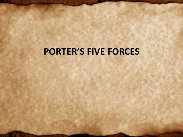 wipro porter s five force Porter's five forces model is a generic framework that deconstructs industry structure into five underlying competitive forces or variables these five underlying forces are competitive.