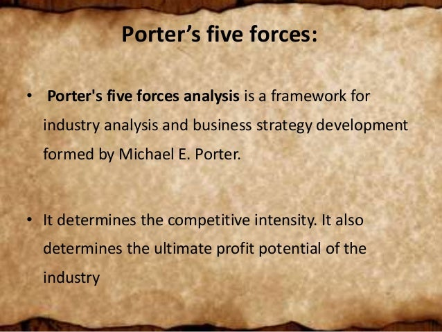 porter s five forces emami The five forces framework reveals how underlying sources of competitive  pressure  (january 2008) and porter, m, how competitive forces shape  strategy.