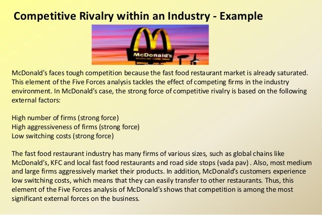 fast food competitor analysis Who is the closest competitor of kfc update cancel ad by amazon not quite as similar in terms of offerings, but fast food chicken is fast food chicken.