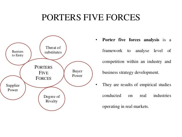 porters model approach for rice industry Implementation of combination strategy based on porter's model: prakashawade@gmailcom abstract porter's model to approach market with specific strategy is most accepted strategy model in domestic, regional, international with an explicit technique for analysing industry structure and.