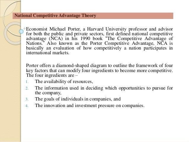 Porter s theory - Porter s model of competitive advantage ...
