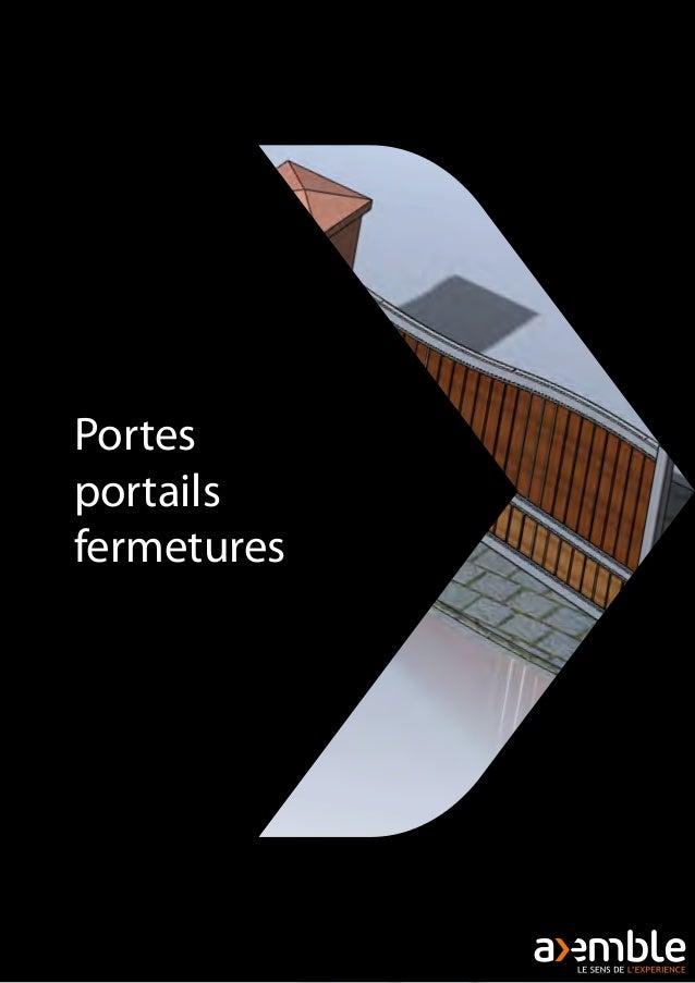 Portes portails fermetures