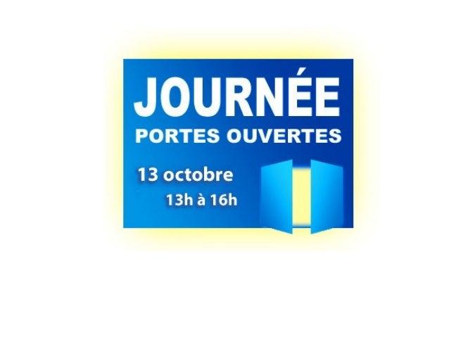 Portes ouvertes 2012-2013