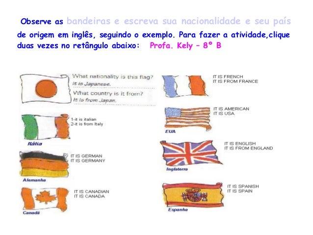 Estudamos On Line Frase Em Inglês E Tradução Em Português: Portfólio 2013 -E.M Elízio R. Vieira