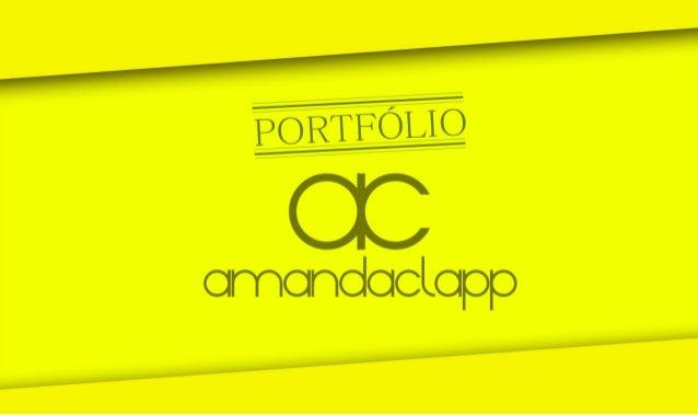 Portfólio Amanda Clapp