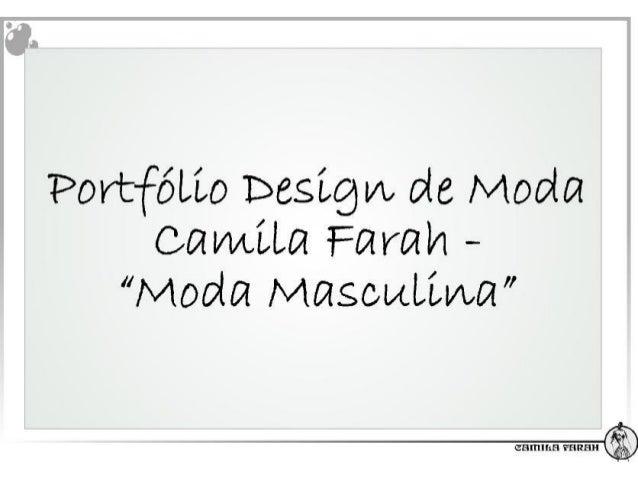 """PortfóLLo Design/ L de Moda ca mLLa Farah - """"Moda MascuLLwa"""""""