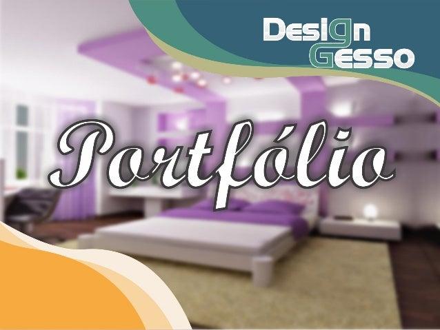 Portfólio Design Gesso