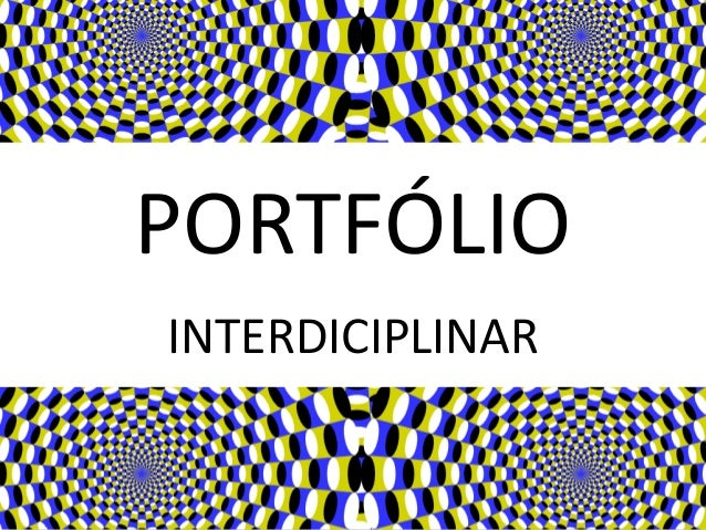 PORTFÓLIO INTERDICIPLINAR