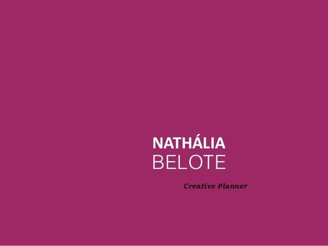 NATHÁLIA BELOTE Creative Planner
