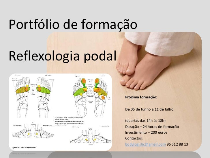 Portfólio de formaçãoReflexologia podal                     Próxima formação:                     De 06 de Junho a 11 de J...
