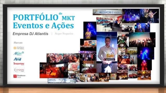 PORTFÓLIO Eventos e Ações MKT de | Roger Nogueira