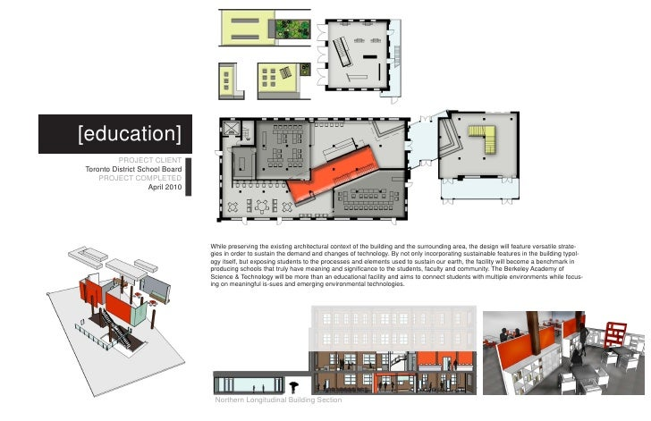 ... Society Environment; 4. [education] PROJECT CLIENT Toronto District  School ...