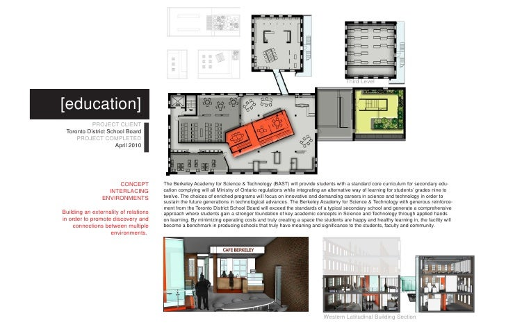 northern longitudinal building section 5 - Interior Design Toronto School