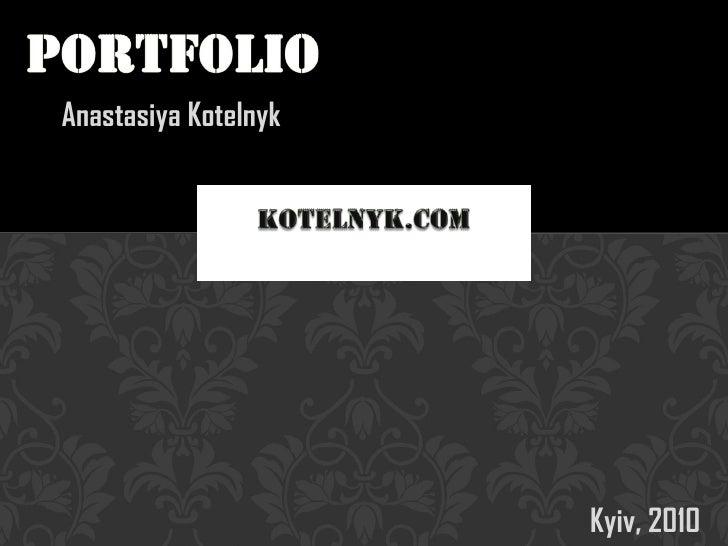 Portfolio_Anastasiya Kotelnyk