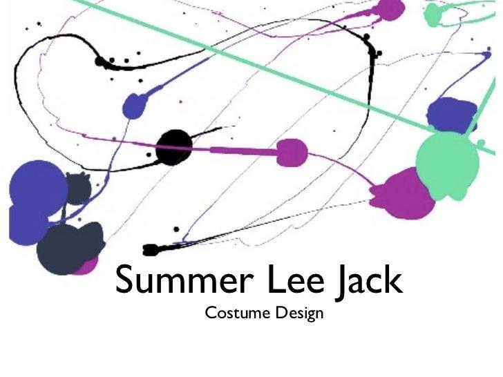 summer lee jack  DESIGN PORTFOLIO