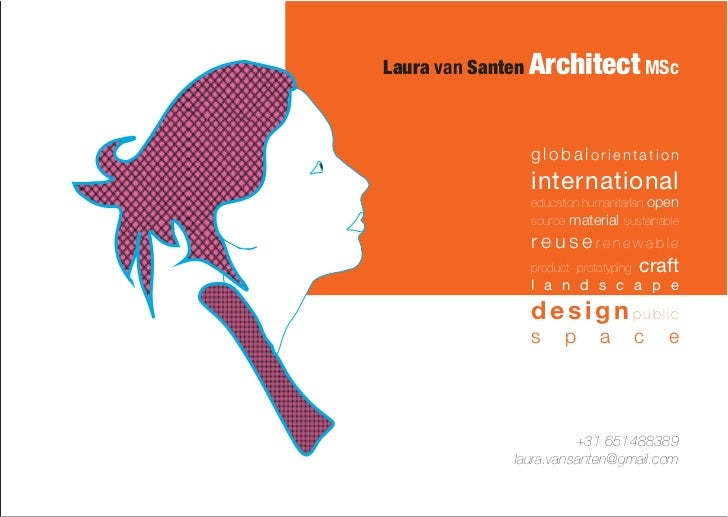 Laura van Santen Architect MSc               globalorientation               international               education humanit...
