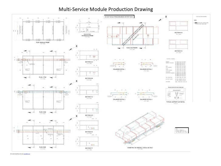 Multi-Service Module Production Drawing
