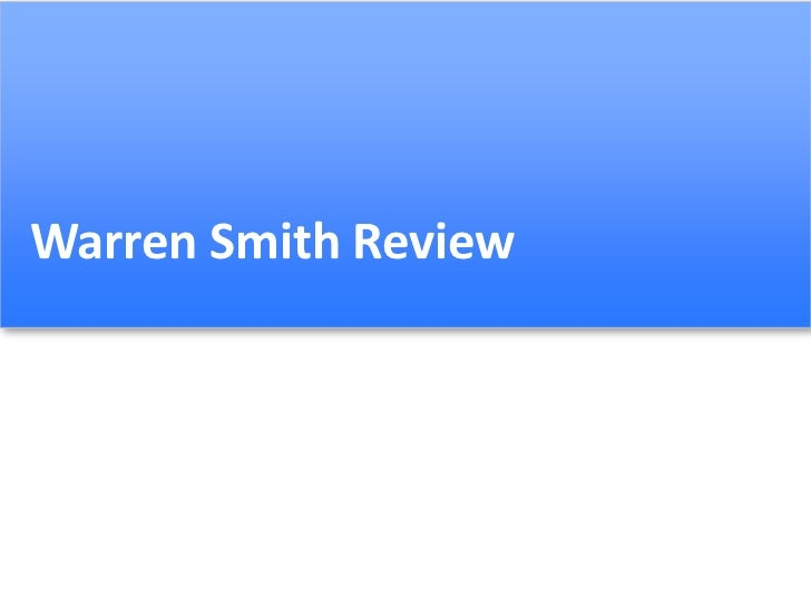 Warren Smith Review