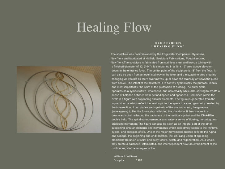 "Healing Flow <ul><ul><ul><li>Wall Sculpture  </li></ul></ul></ul><ul><ul><ul><li>"" HEALING FLOW"" </li></ul></ul></ul><ul><..."