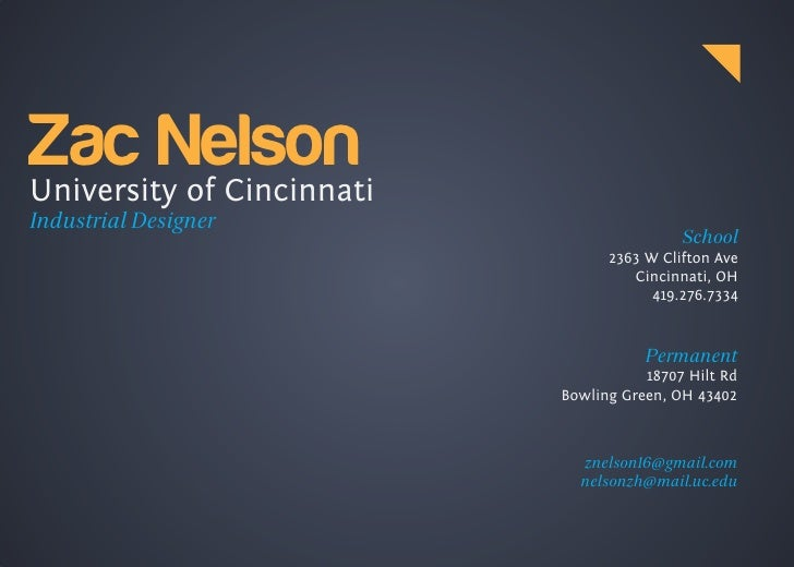 "!""#$%&'()* University of Cincinnati Industrial Designer                                            School                 ..."