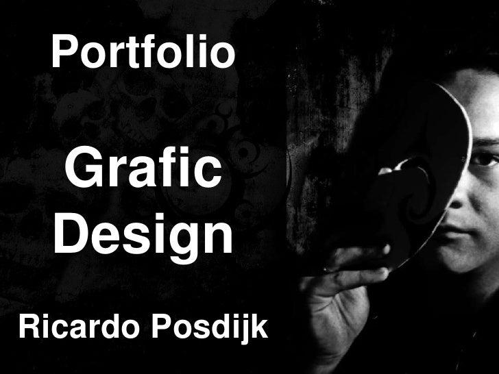 Portfolio Grafic DesignRicardo Posdijk