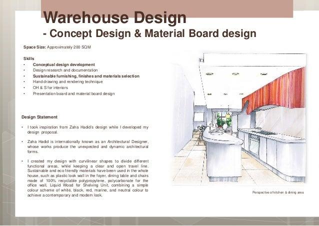 Attractive Architecture Design Concept Statement Portfolio