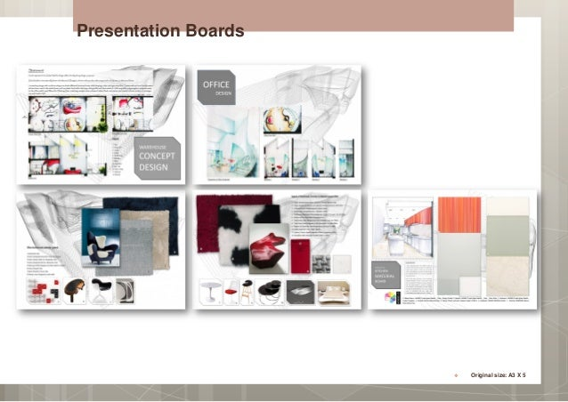 14 Presentation Boards Original Size