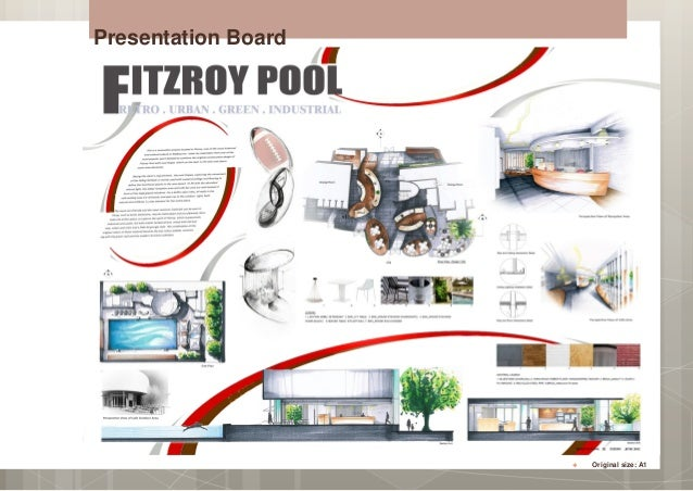 Presentation Board Original Size A1