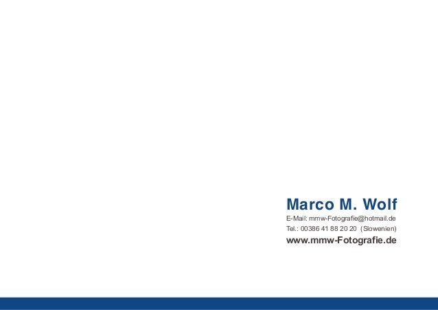 Portfolio Marco M. Wolf Photography Slide 2