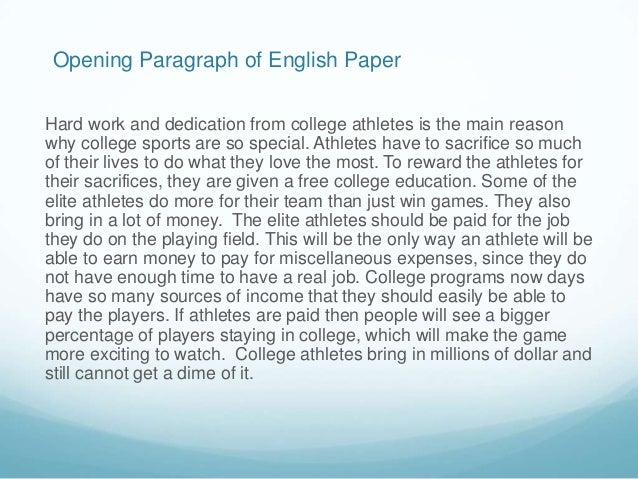 paragraph about hard work