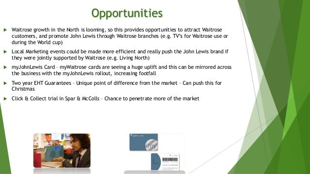 waitrose analysis Waitrose swot analysis profile additional information what is a swot analysis it is a way of evaluating the strengths, weaknesses, opportunities,.