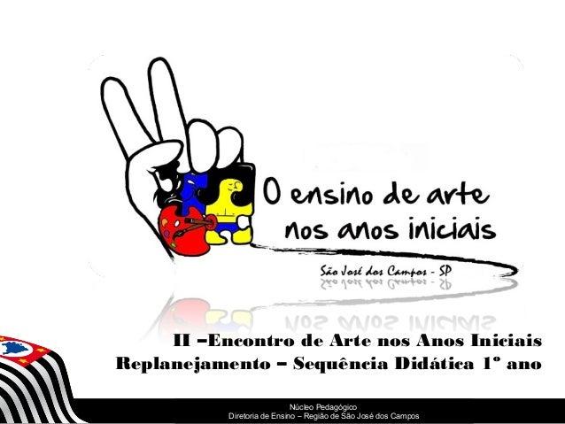 SECRETARIA DA EDUCAÇÃO Coordenadoria de Gestão da Educação Básica Núcleo Pedagógico Diretoria de Ensino – Região de São Jo...