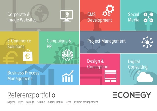 Project Management  Corporate &  Image Websites  Design &  Conception  Business Process  Management  CMS  Development  Soc...