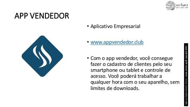 APP VENDEDOR • Aplicativo Empresarial • www.appvendedor.club • Com o app vendedor, você consegue fazer o cadastro de clien...