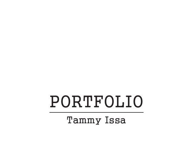 PORTFOLIO Tammy Issa