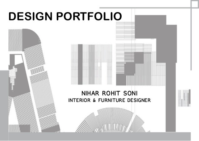 Interior and Furniture Design Portfolio