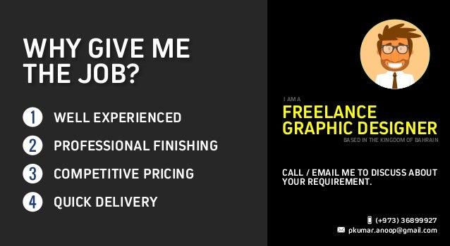 Freelance Graphic Designer Bahrain