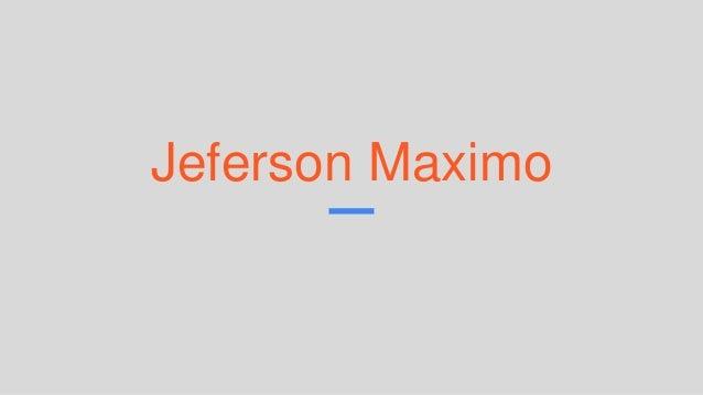 Jeferson Maximo