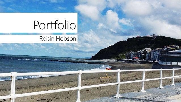Portfolio Roisin Hobson