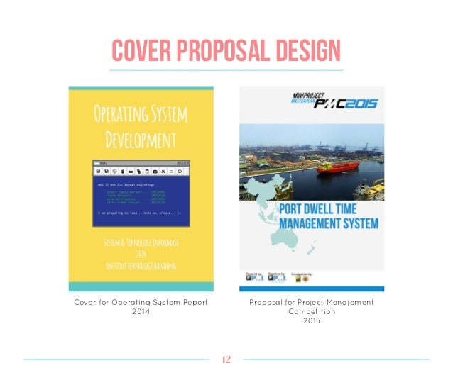 Design Portfolio by Arum Adiningtyas – Proposal Cover Page Design