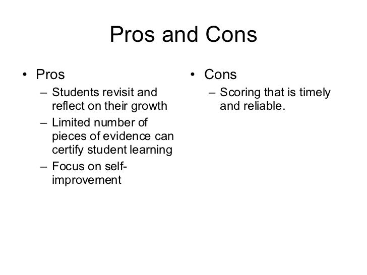 Portfolio Assessment Slide 3