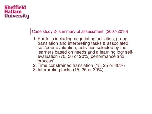 time constrained case study based assessment 2018-07-05 • integrated work activities • time constrained tests • group and individual • examinations presentations • viva voce competency-based assessment may also be used in centres that are approved for this method of assessment and have assessors that are occupationally competent centres may choose activities from the cipd assessment.