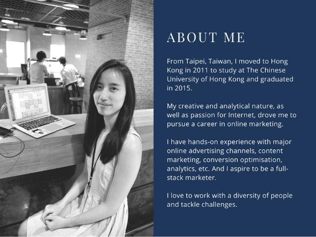 portfolio belle yu marketing specialist