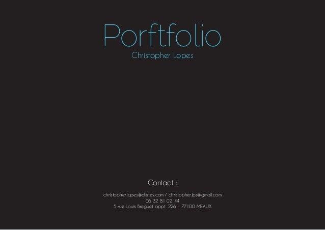 Portfolio  - Christopher Lopes