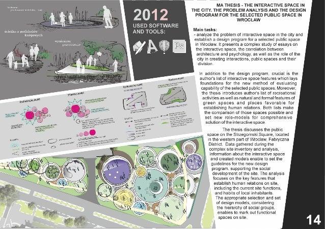 Essay   Landscape Architecture