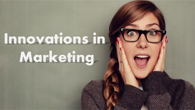 1 Innovations in Marketing